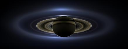 Cassini saw Saturn eclipsing the Sun, July 2014