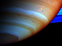 Saturn's Dragon Storm