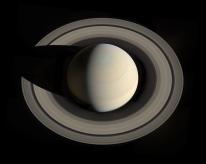 Looking down Saturn, October 2013