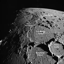 Fra Mauro, Apollo 14 landing site