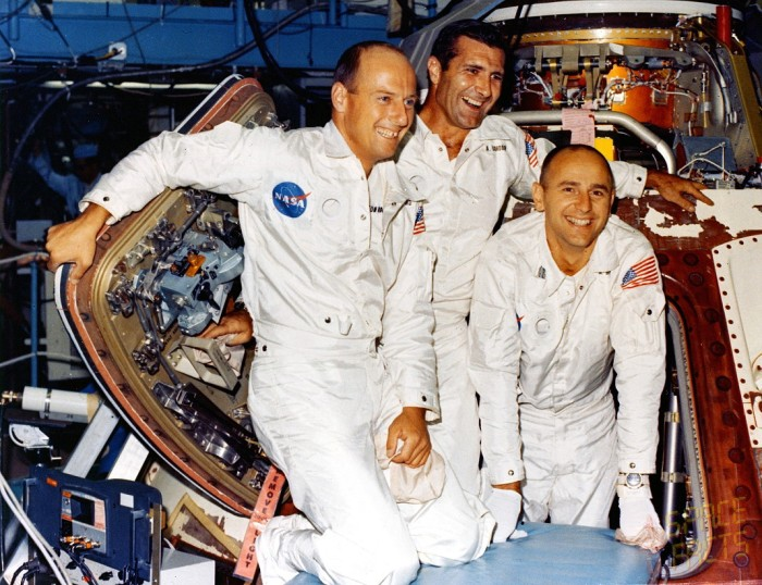 Pete Conrad, Richard F. Gordon, Alan Bean