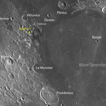 Apollo 17 landing site, Taurus-Littrow highlands