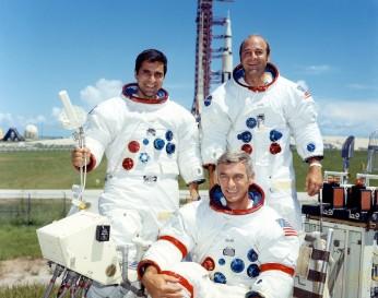 Harrison Schmitt, Eugene Cernan, Ronald Evans
