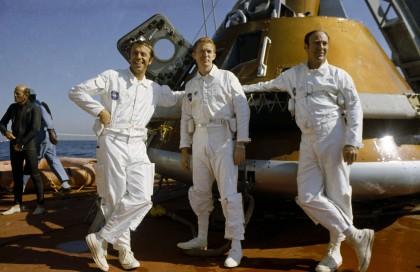 Alan Shepard, Stuart Rossa, Edgar Mitchell