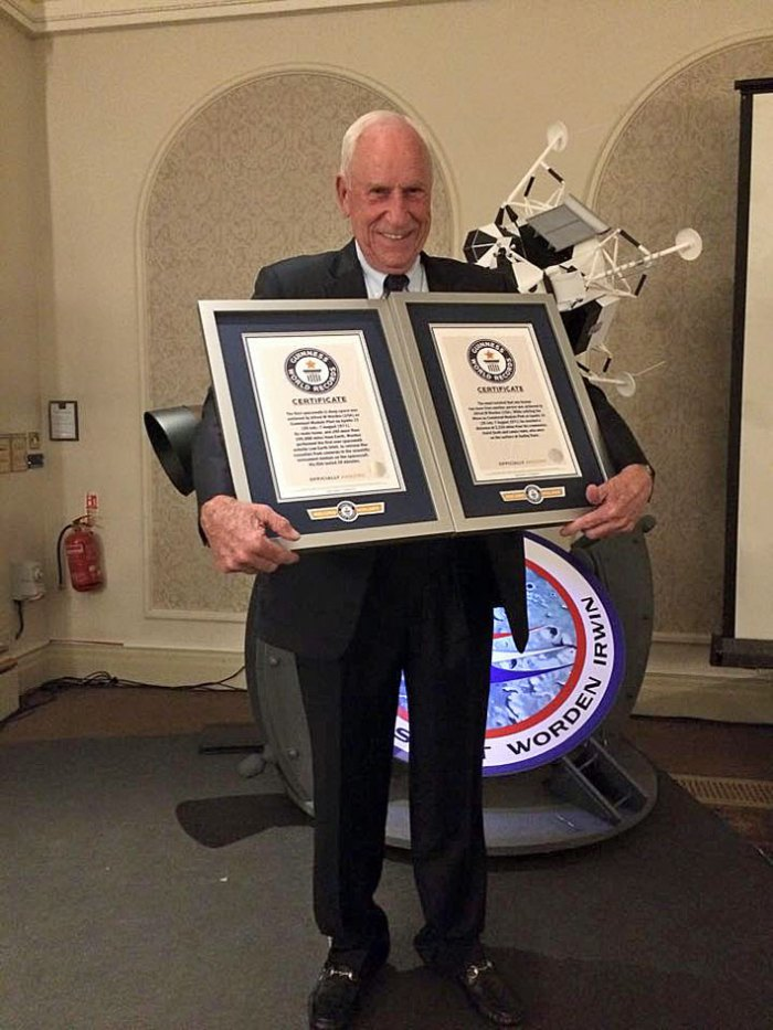 Al Worden, Guinness World Record Holder